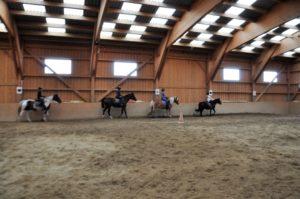 Kindergeburtstag im Stall, Kindergeburtstag mit Pferden